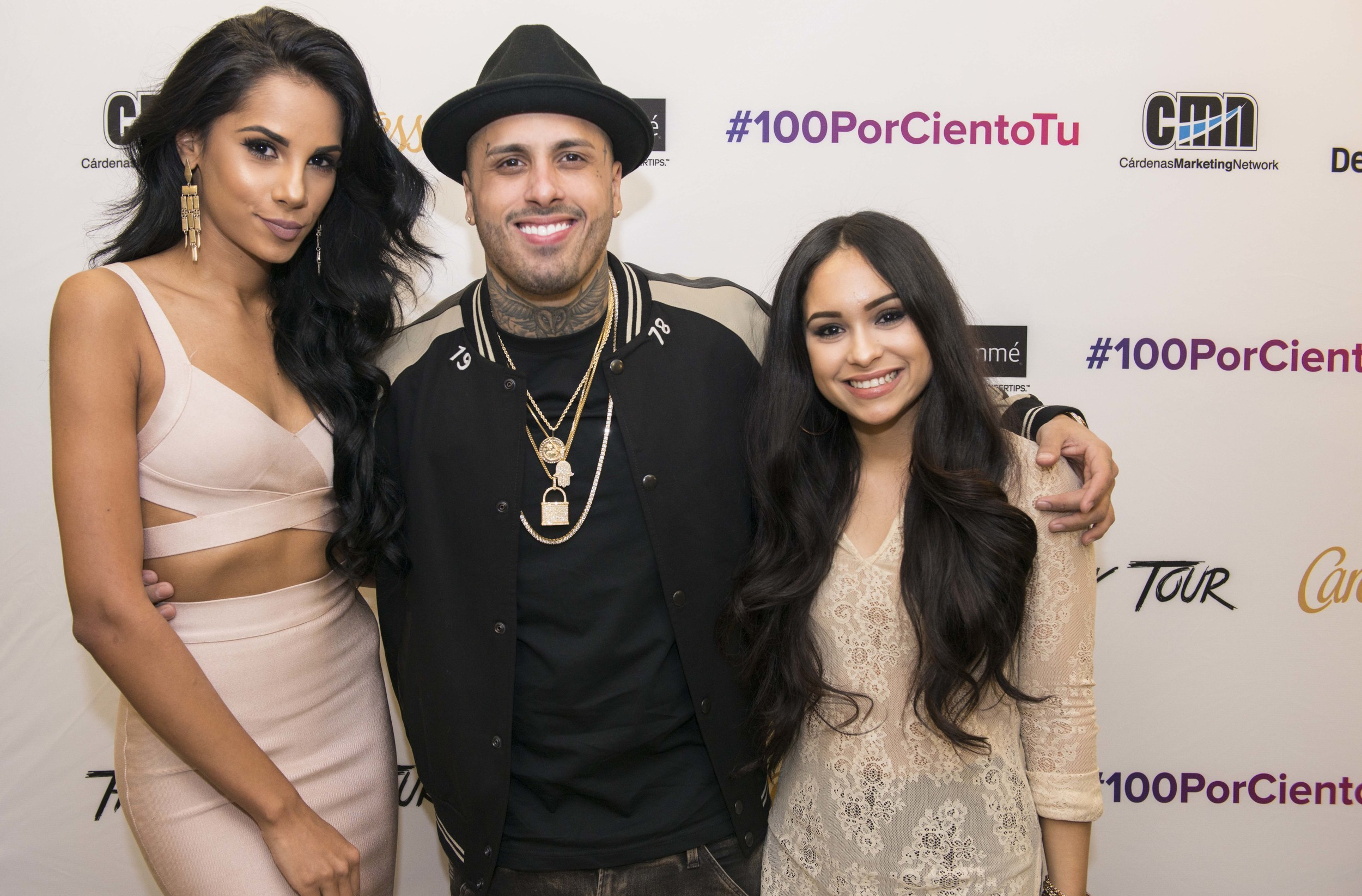 #100PorCientoTu Lauch Event in NYC with Nicky Jam