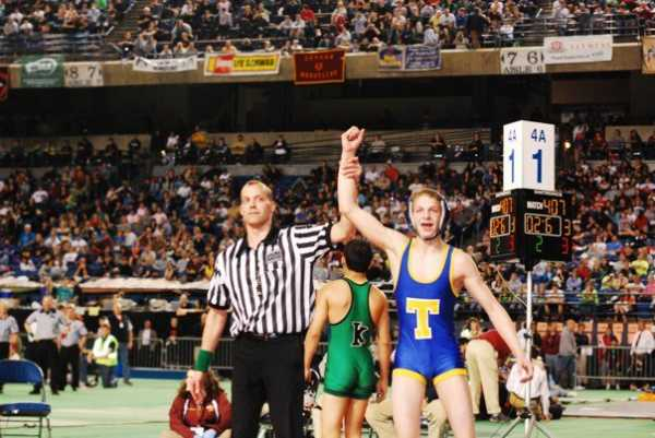 In his first trip to the Tacoma Dome, Steven pinned a returning state champion and national champion in the finals at 103 Pounds.