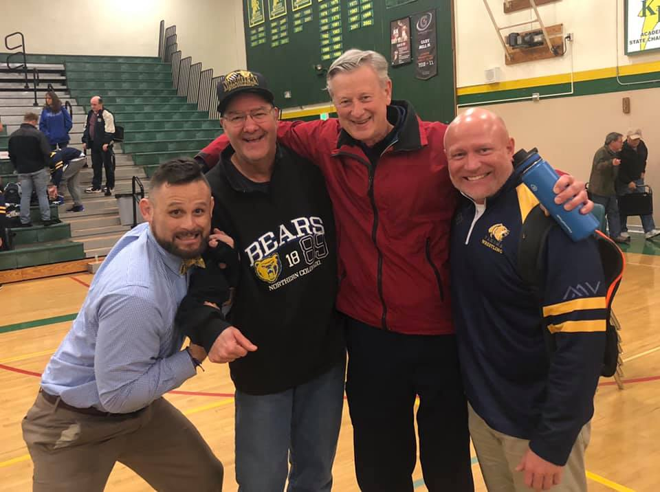 Long Time Bear Supporters and Fathers of Two Tahoma State Champions - Kevin Bayer and Randy Lamb