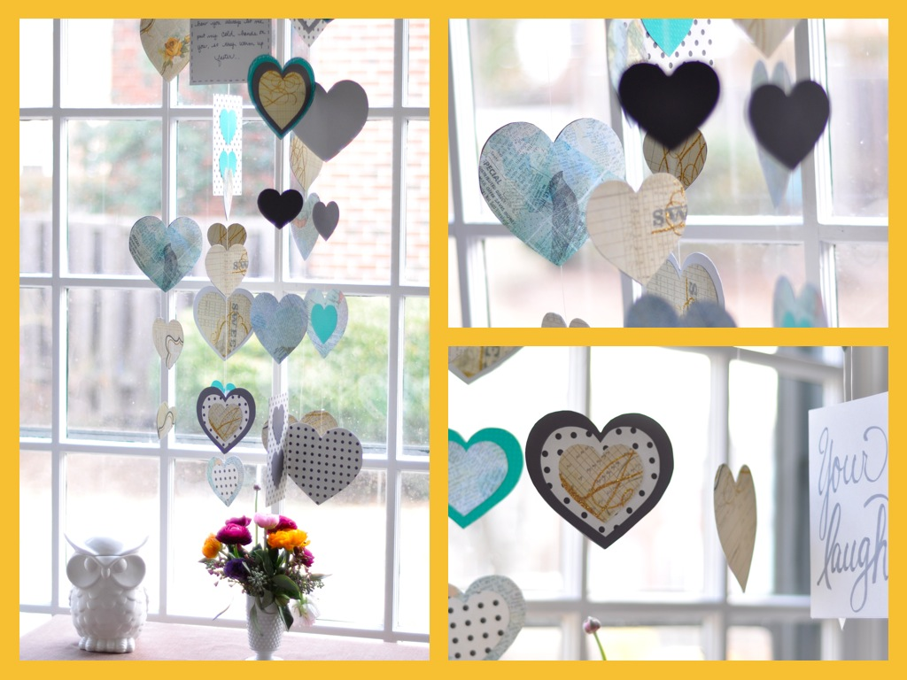 Make a Valentine Mobile | Salt & Twine Blog