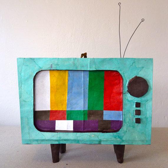 Etsy - TV Pinata