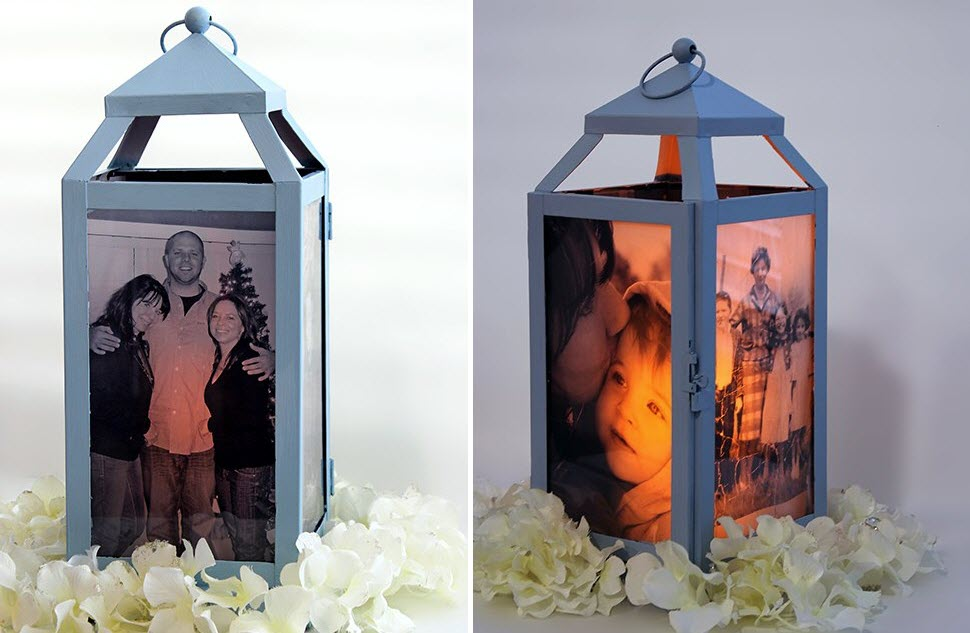 Fun Summer Projects - Picture lanterns