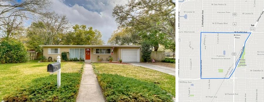 3 Tampa Neighborhoods - Fair Oaks Manhattan Manor