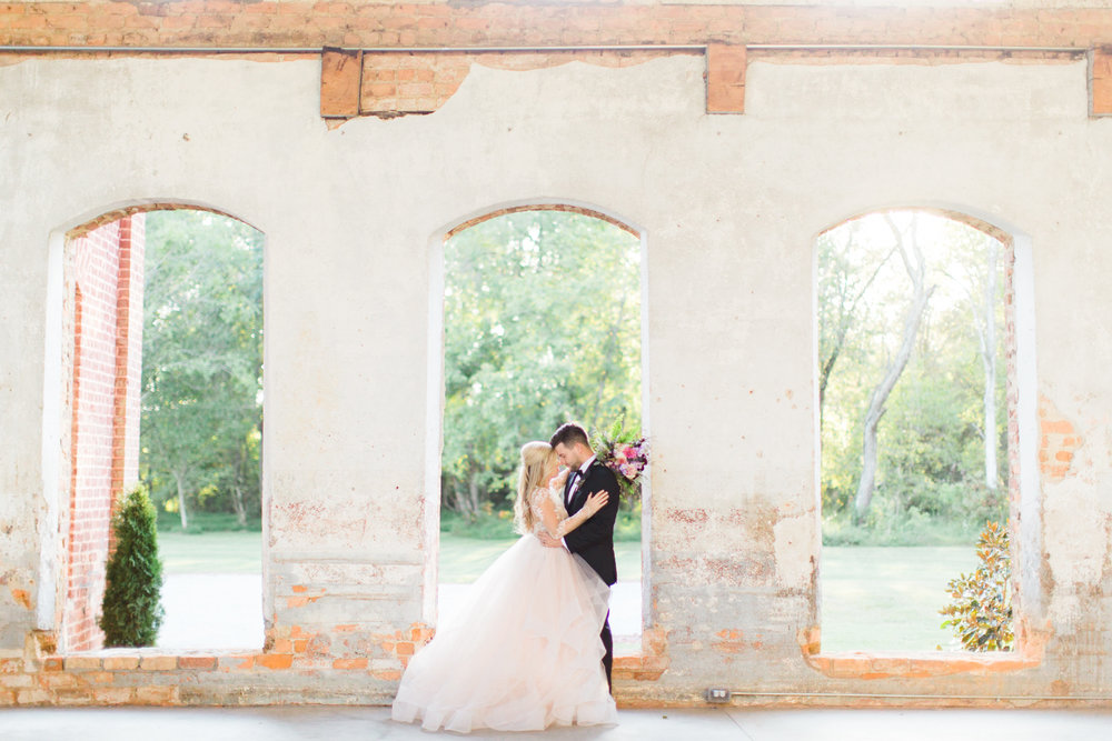 NC Wedding Photographer | The Providence Cotton Mill