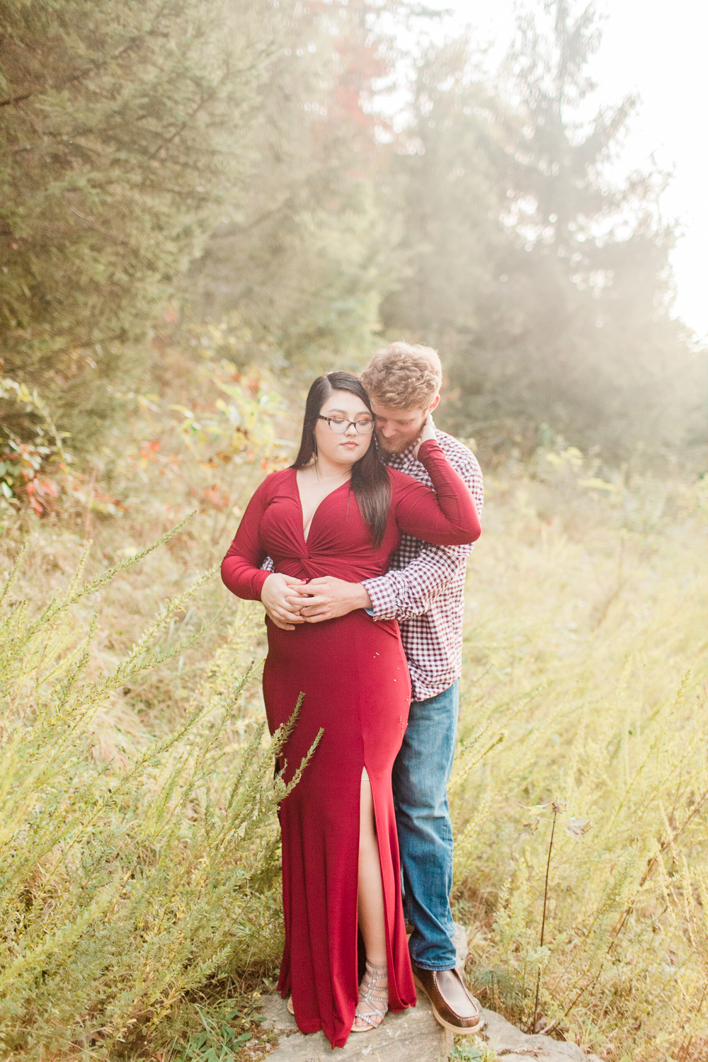 Dupont State Forest Engagement Session