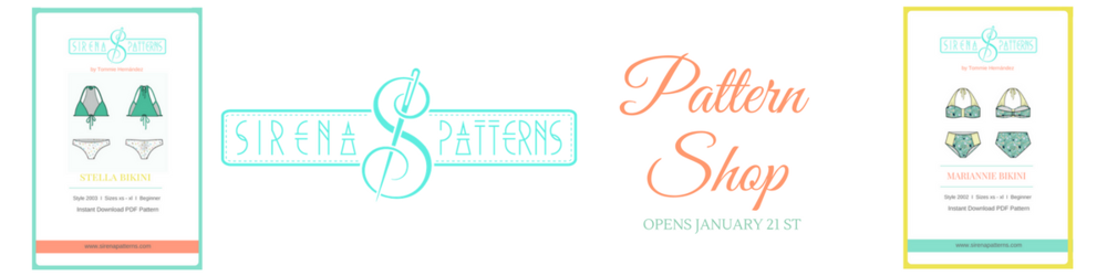 sirena patterns shop pdf sewing patterns