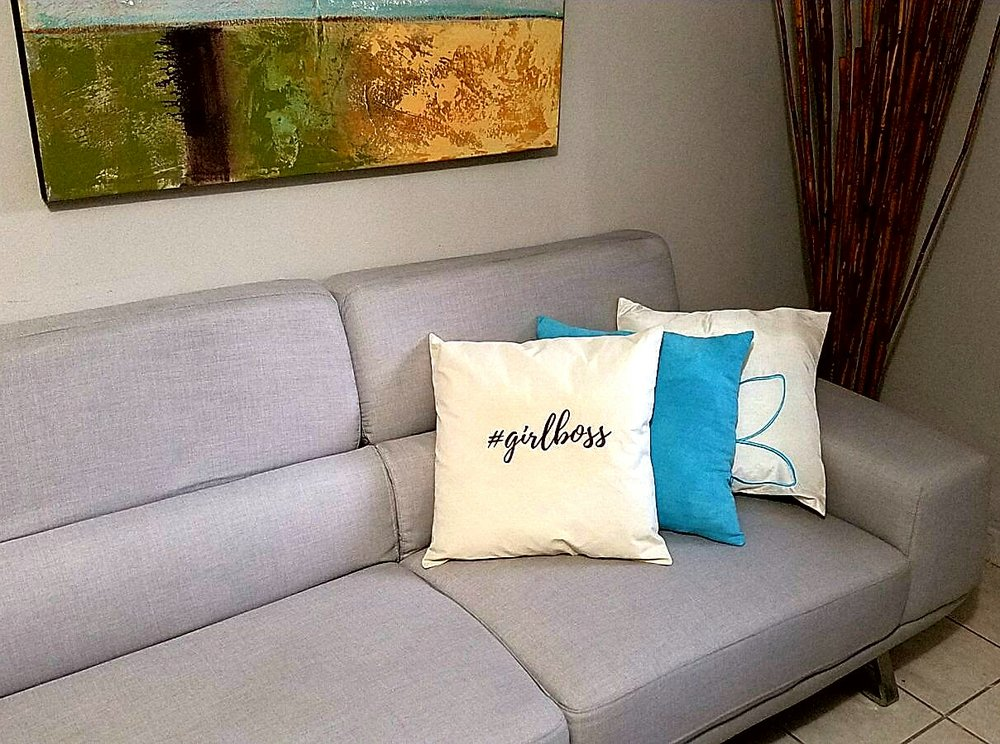 Cómo hacer un Cojin #girlboss Pillow DIY