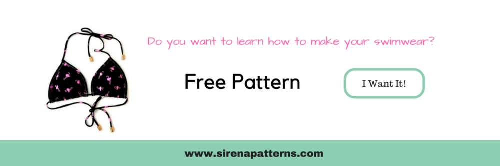 free bikini top triangle pattern how to make a diy swimwear swimauit