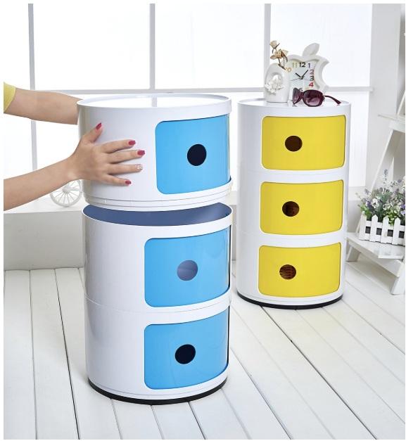 storage colorful furniture box