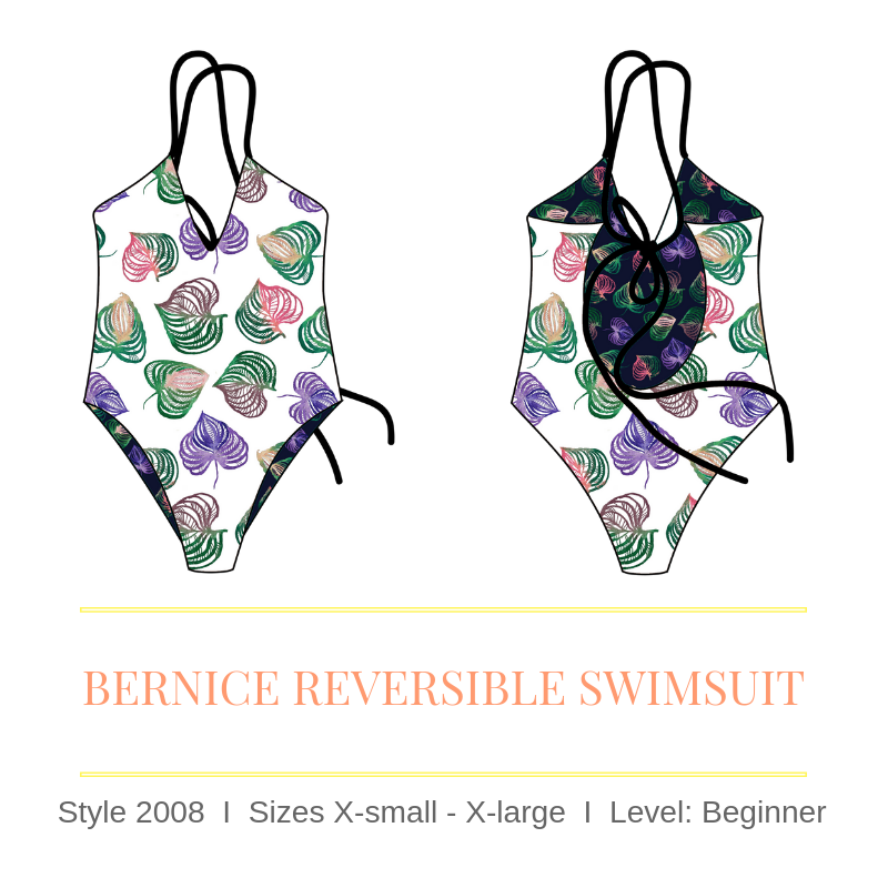 32ae2a003 How to Make a Reversible One-Piece Swimsuit - Step by Step — Sirena ...