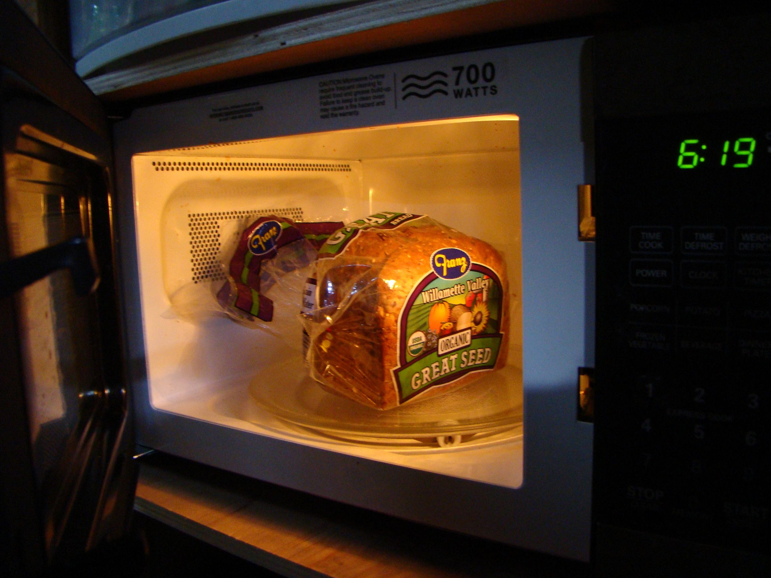 Microwave = Smaller Than a Bread Box