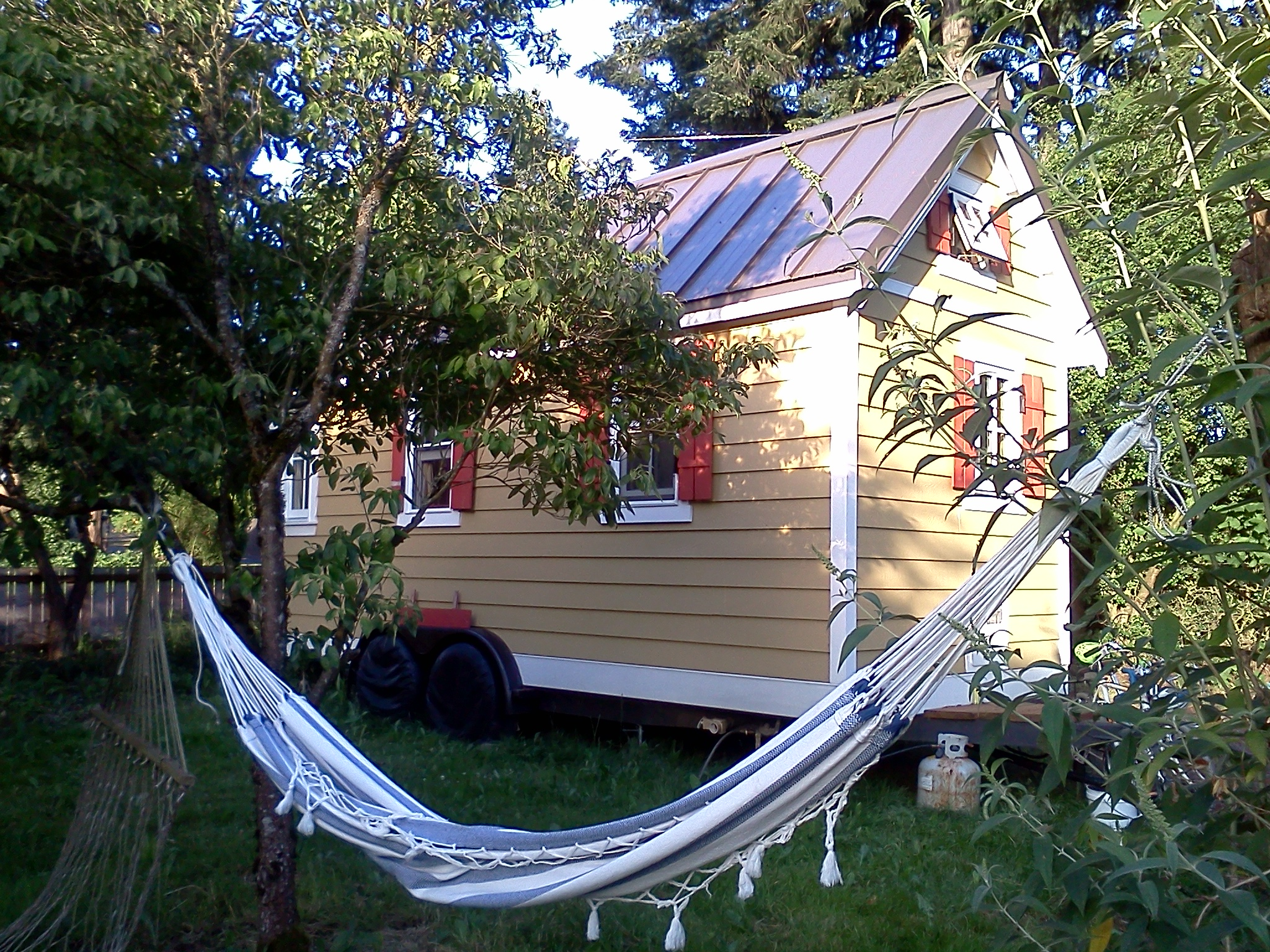 Tiny House & Hammock