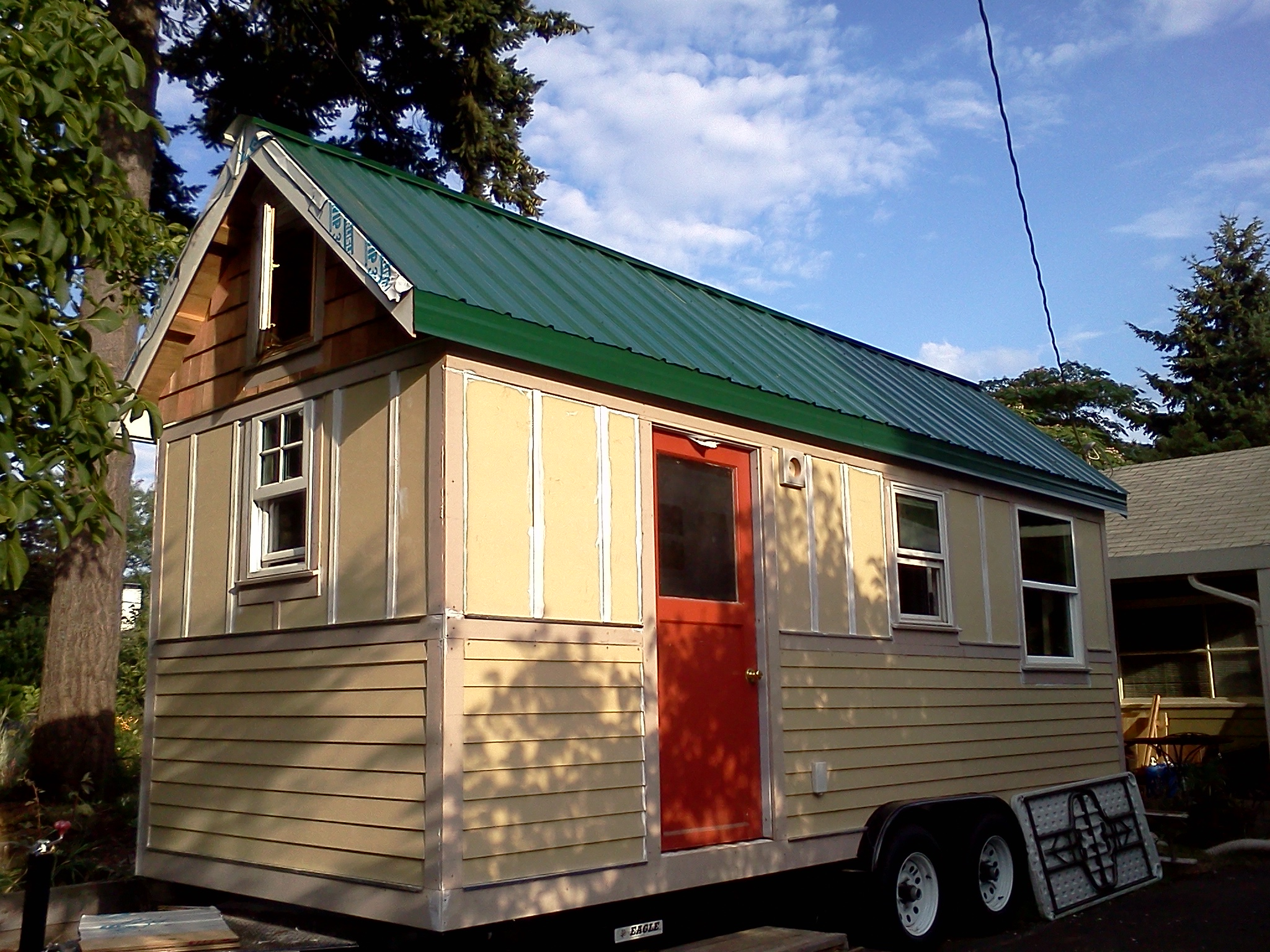 tiny house on BIG Tour