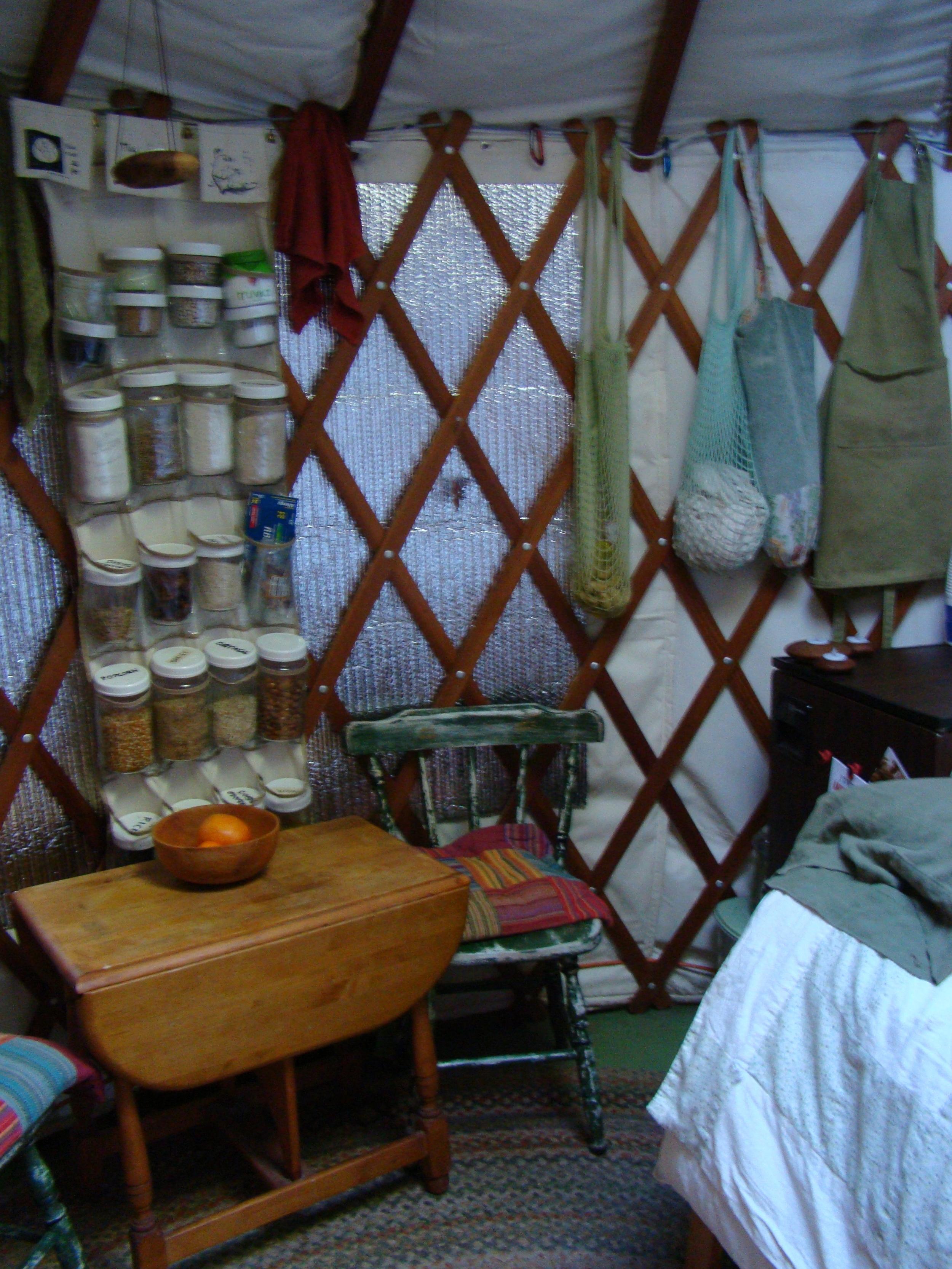 cozy yurt