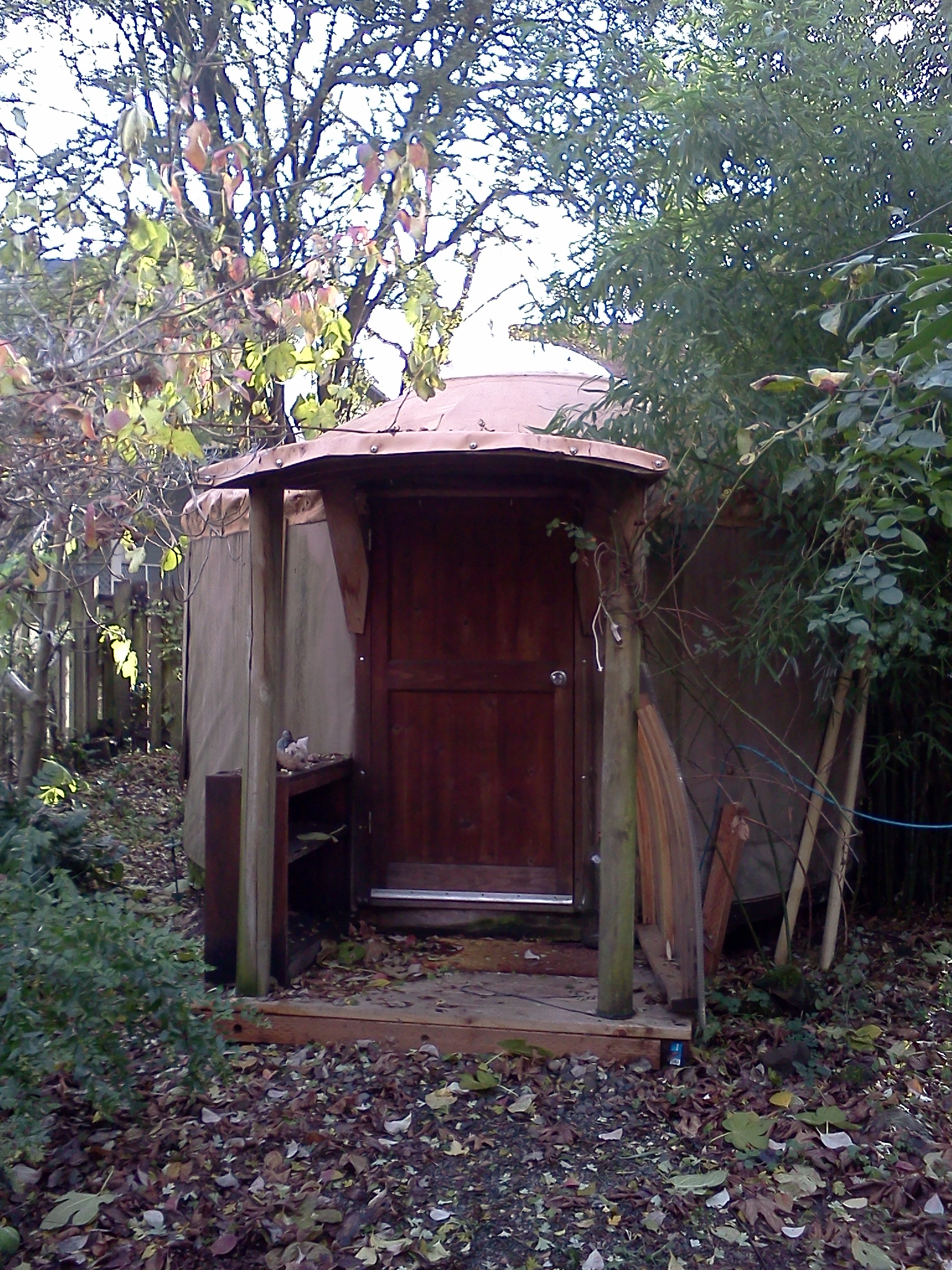 home, sweet yurt