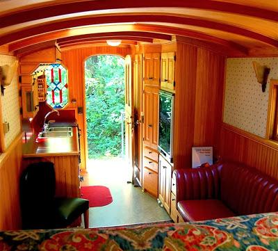 Big Maroon Interior