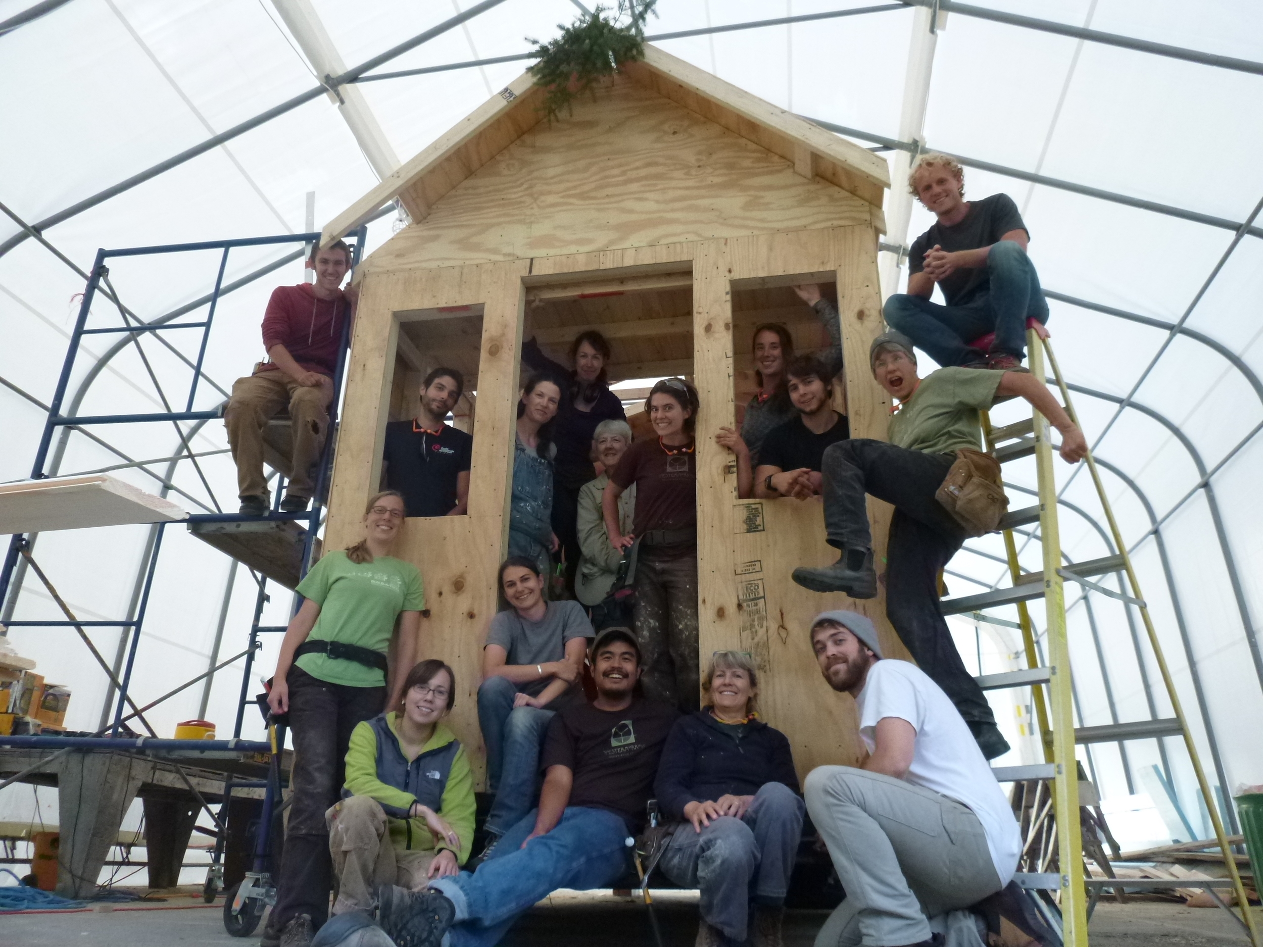 Tiny House Design-Build at Yestermorrow