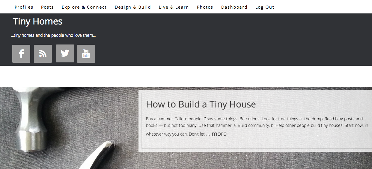 would you like to contribute to TinyHomes.com? just contact me!