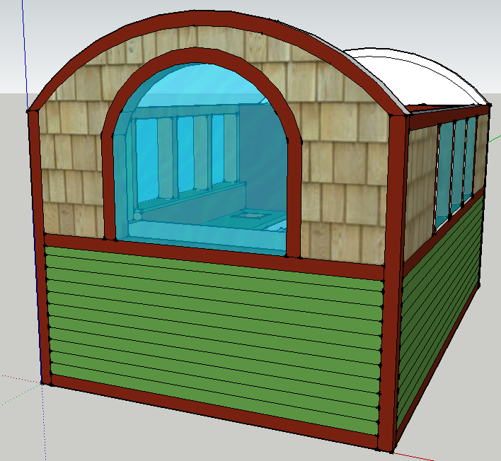 my tiny house starts with a window...