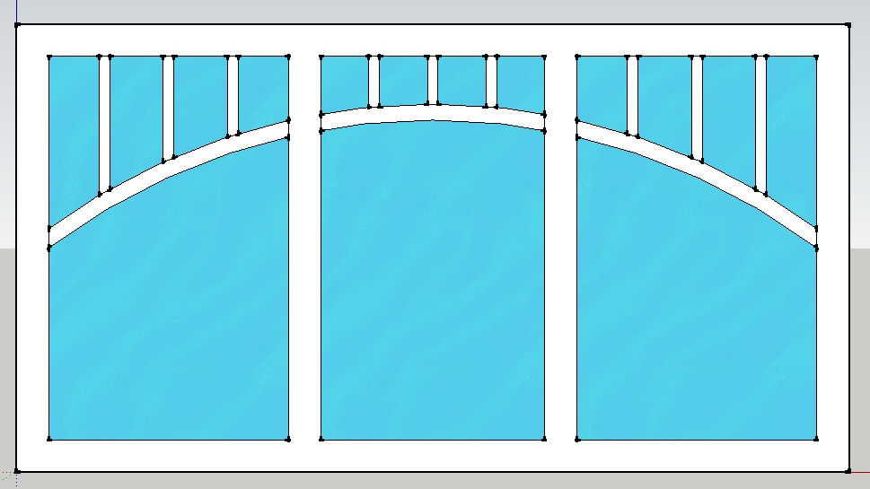 my dream tiny house windows with arched trim