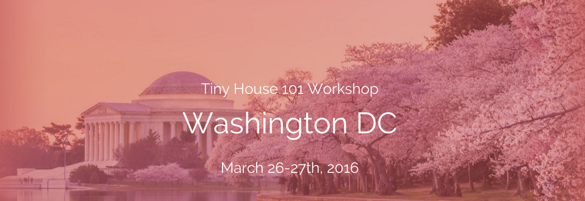 Tiny House 101 DC Mar 2016