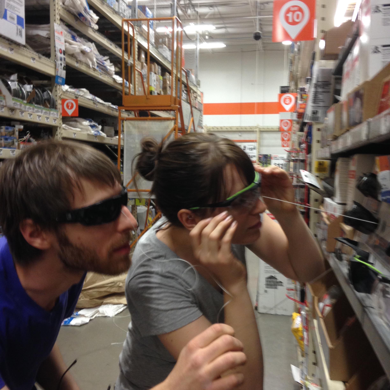 Investigating protective eyewear