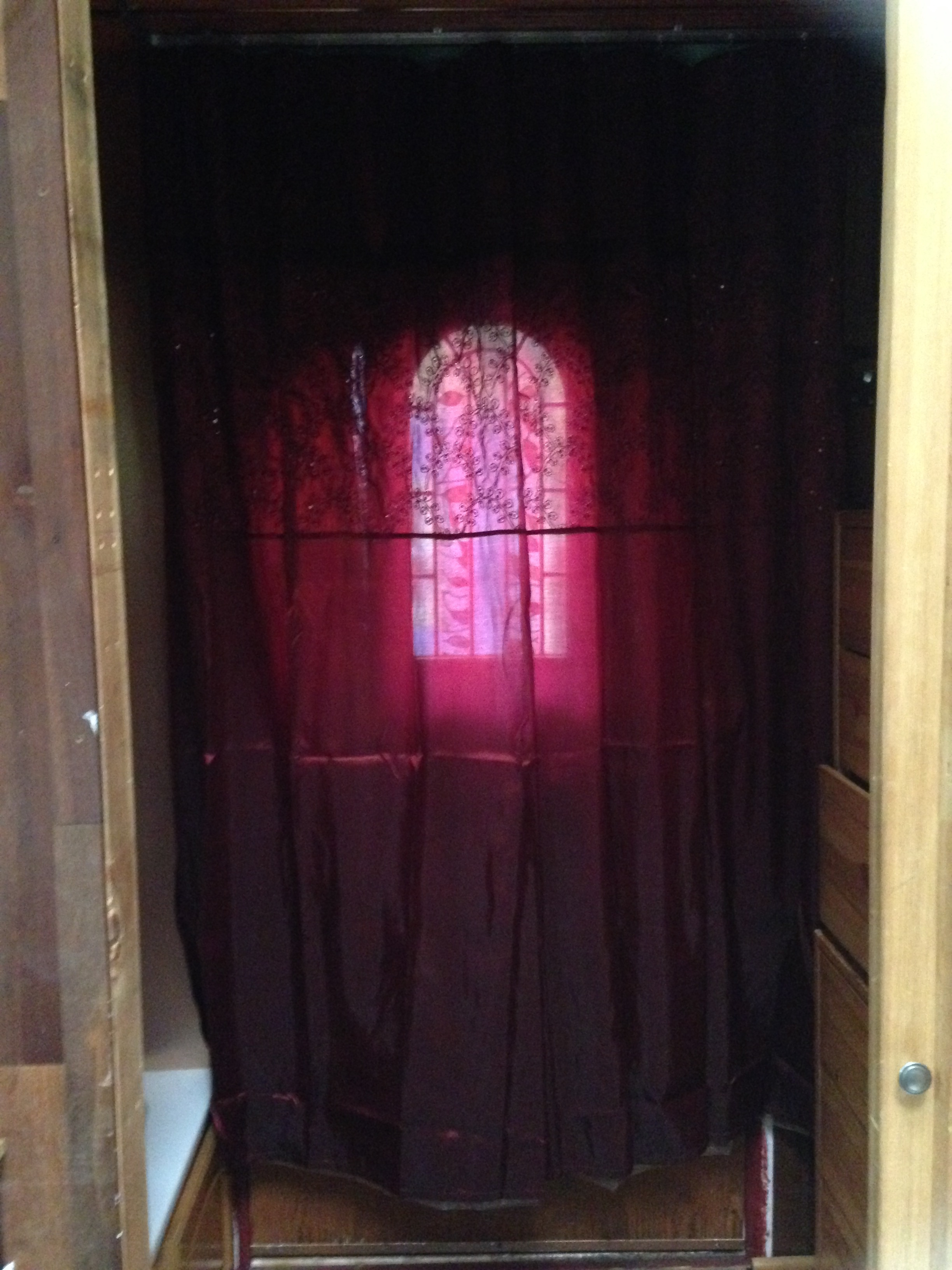 Entry Curtain Over Door