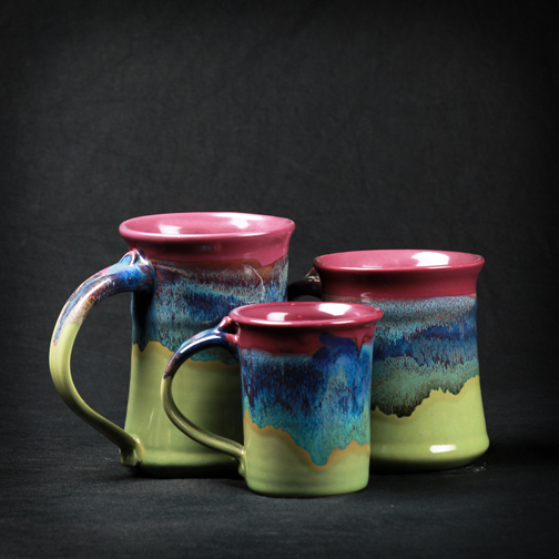 Mossy Creek Mugs from Clay in Motion