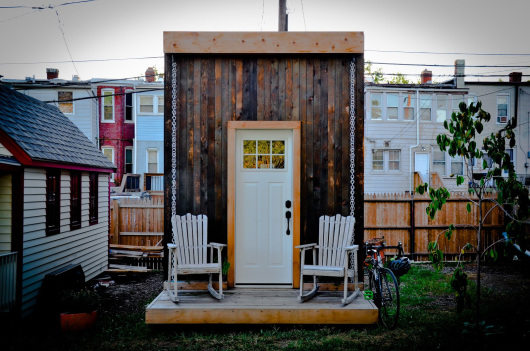 Boneyard Studios in Washington DC is the first showcase for tiny house community