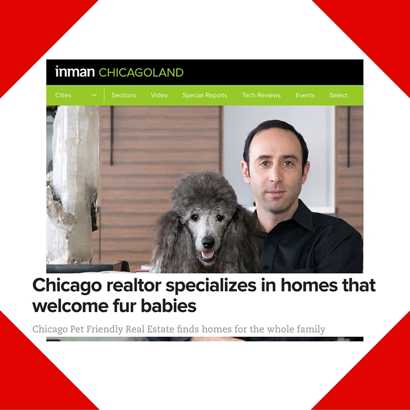 December 22, 2015 - Inman Placement for Chicago Pet Friendly Real Estate