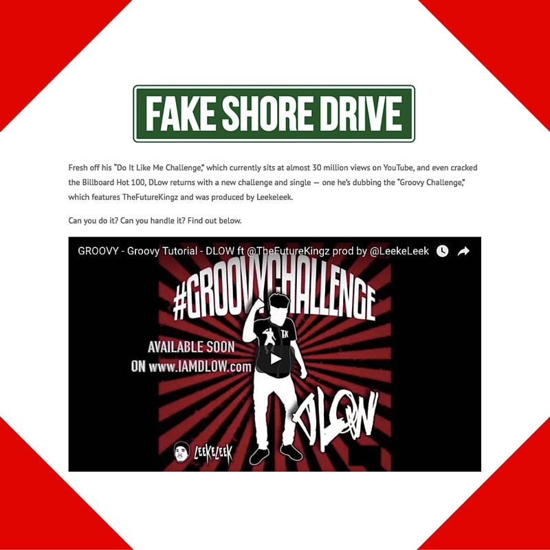 December 26, 2016 - Fake Shore Drive Placement for DLOW