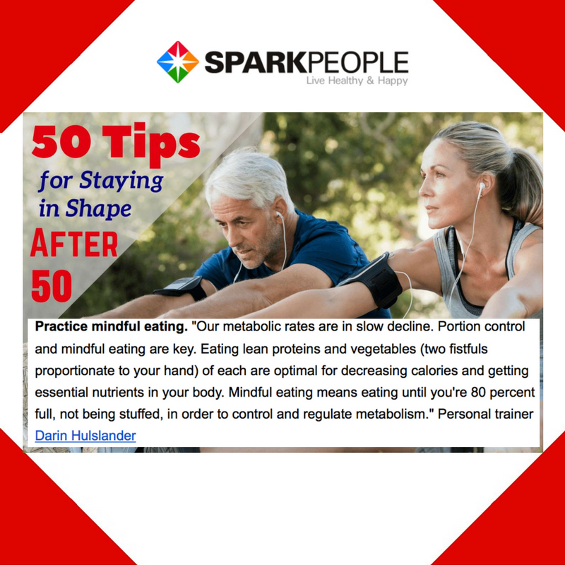 October 21st, 2016 - Spark People Placement for Darin Hulslander