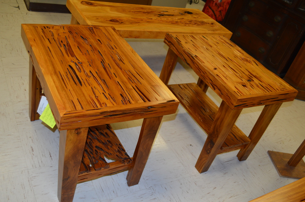 Nice Sinker Cypress End Tables