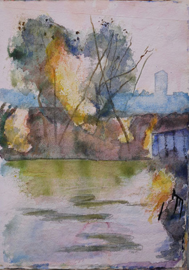 Gowan Canal#5 11x15 sold