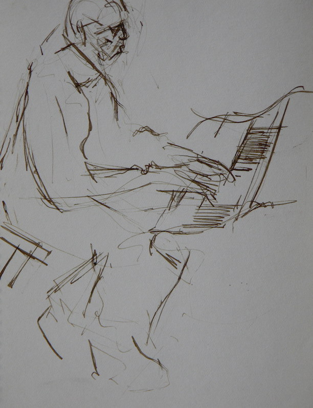 Gil Coggins at the Piano