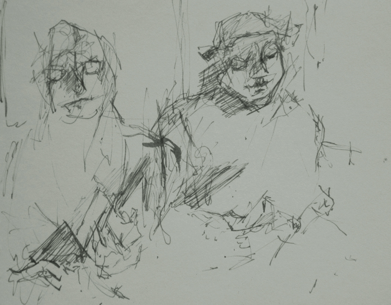 Subway Sketch#4