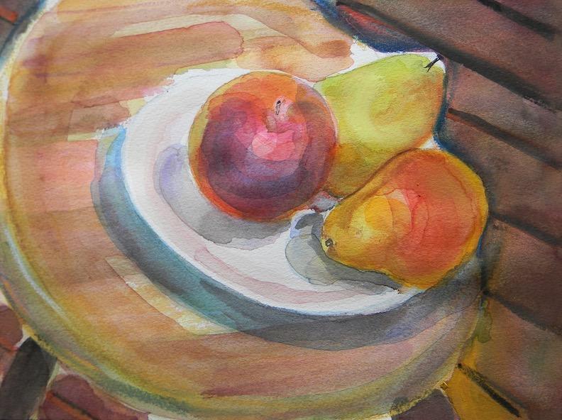 Dish of Fruit2 2018 12x9 $200