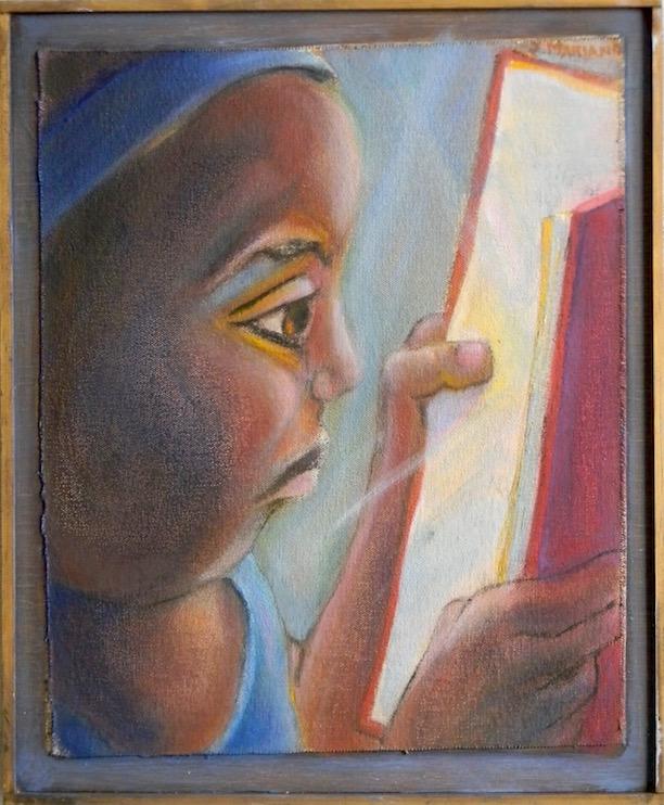 Child Reading 11x13 $400