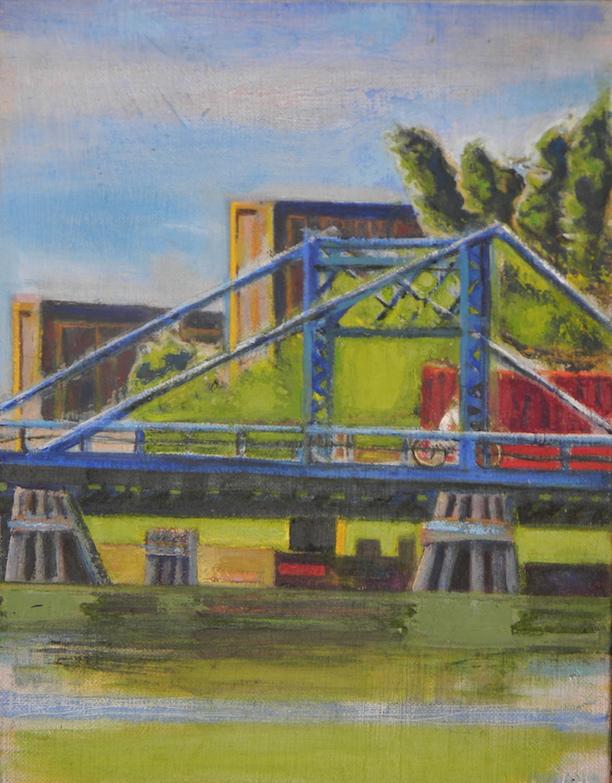 Crossing the Bridge2 11x14 $500