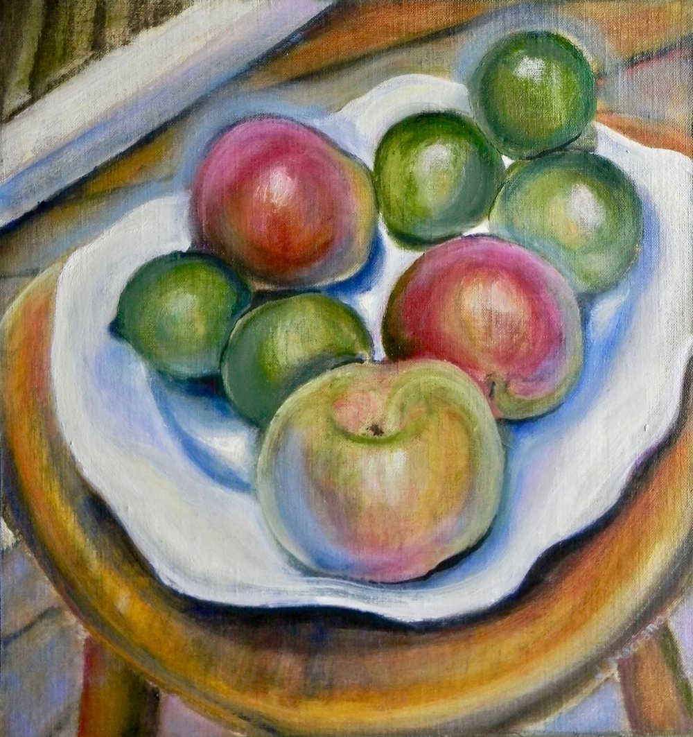 Dish of Fruit sold