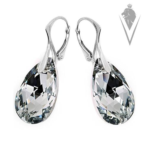 DeVilla Swarovski CrystalR Teardrop Earrings