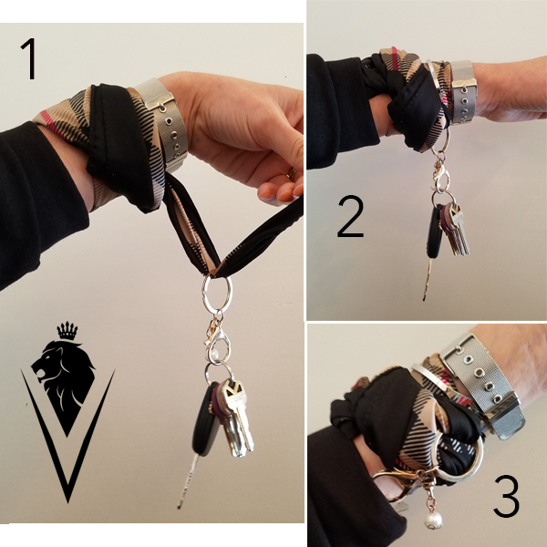 2. Wrap your keys. -