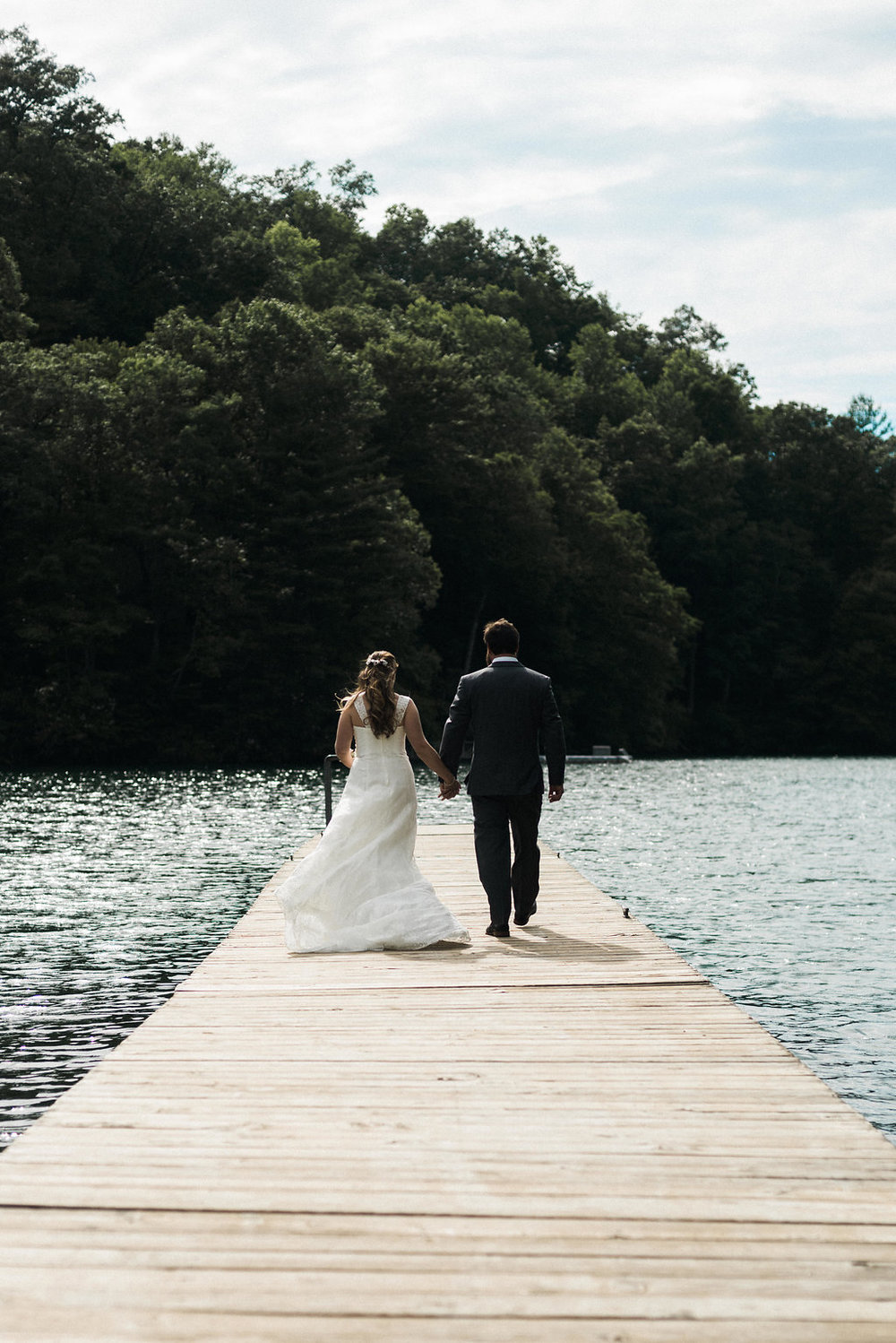 couple on Lake Nantahala