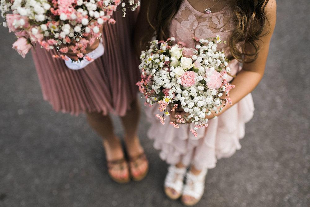attendant's flowers