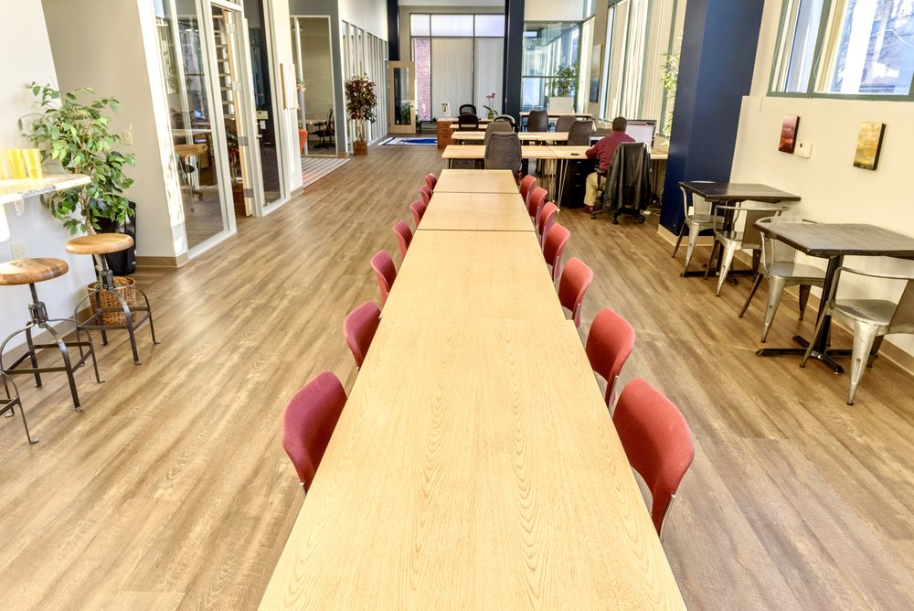 venturepad shared cowork space with quiet zone on left