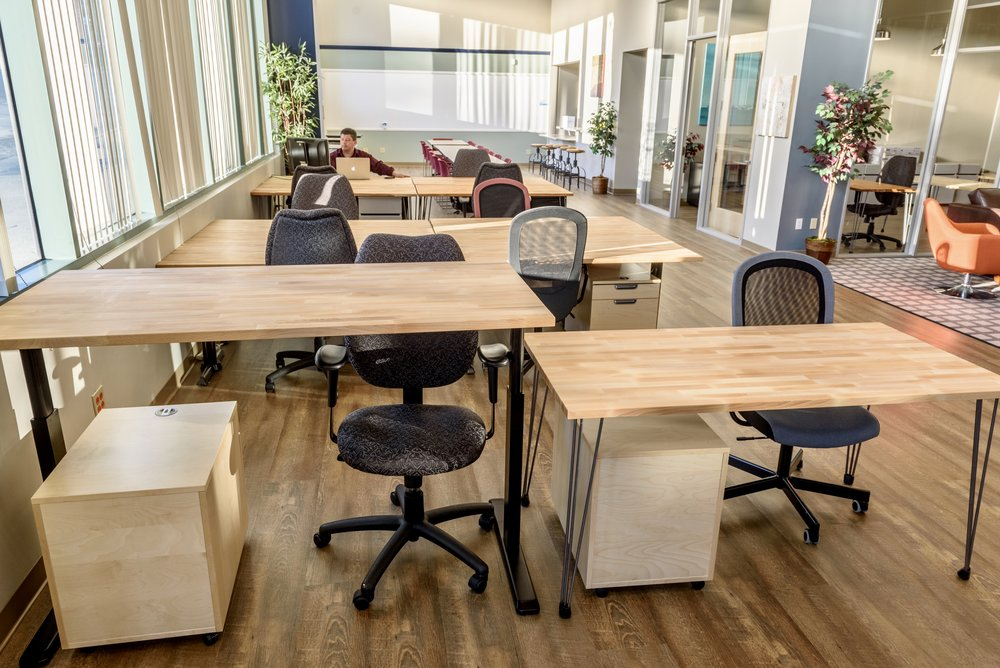 resident coworking zone