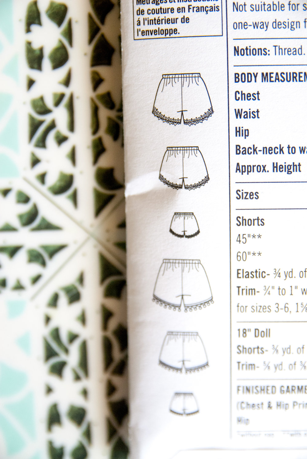 How to read sewing patterns by Pin, Cut, Sew studio