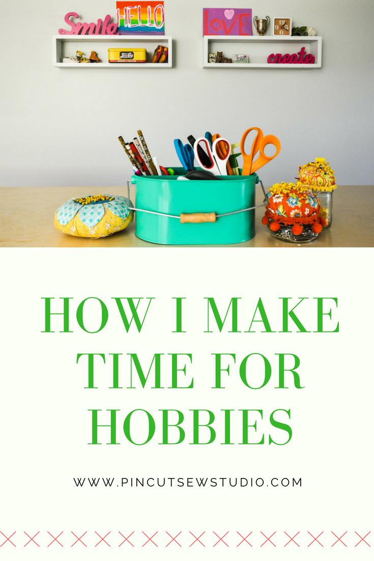 How to make time for hobbies by Nikki Schreiner