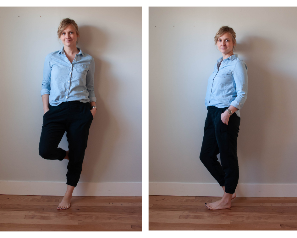 Hudson pants sewing pattern
