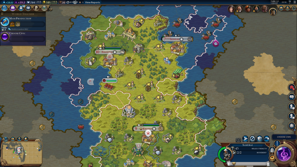 Strategic mode is utterly gorgeous and lends the game even more of a board game feel than it already has inherently